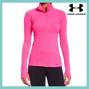 🎉HP🎉 Pink Under Armour Tech TwistLong Sleeve